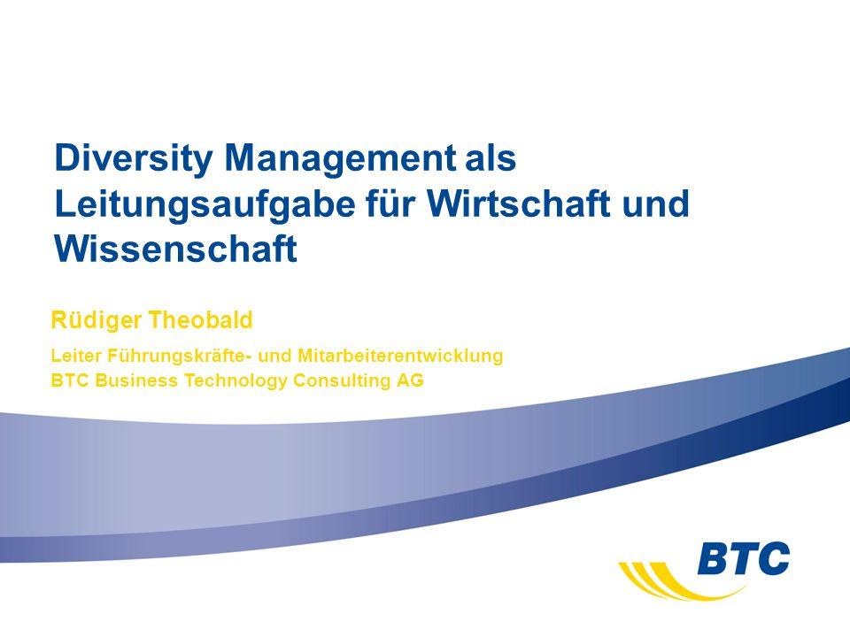 Diversity Management als Leitungsaufgabe für Wirtschaft und Wissenschaft