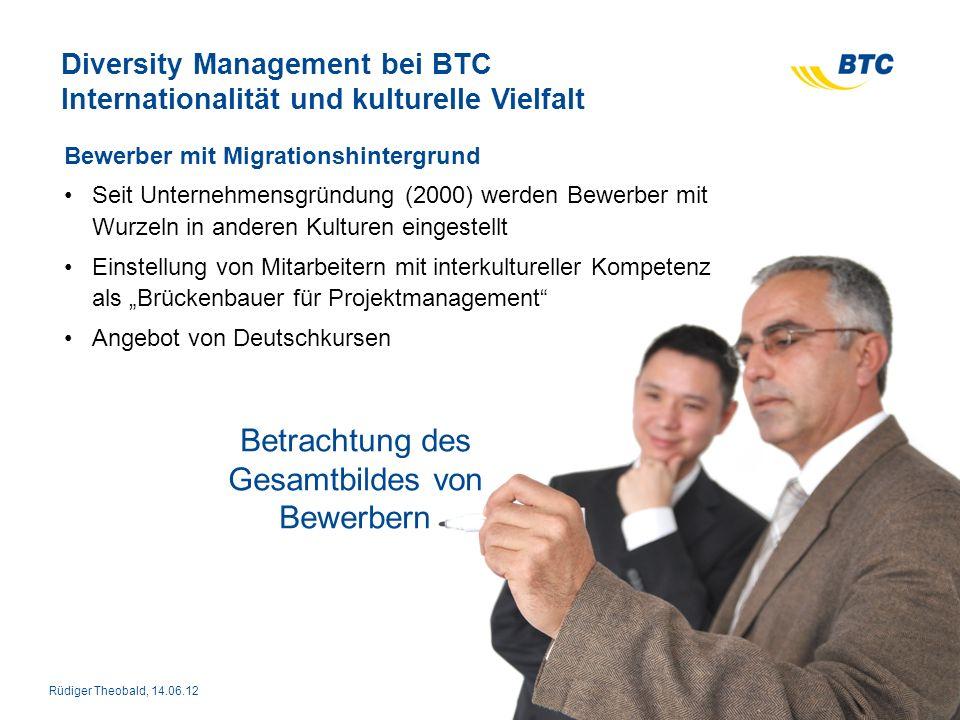 Diversity Management bei BTC Internationalität und kulturelle Vielfalt