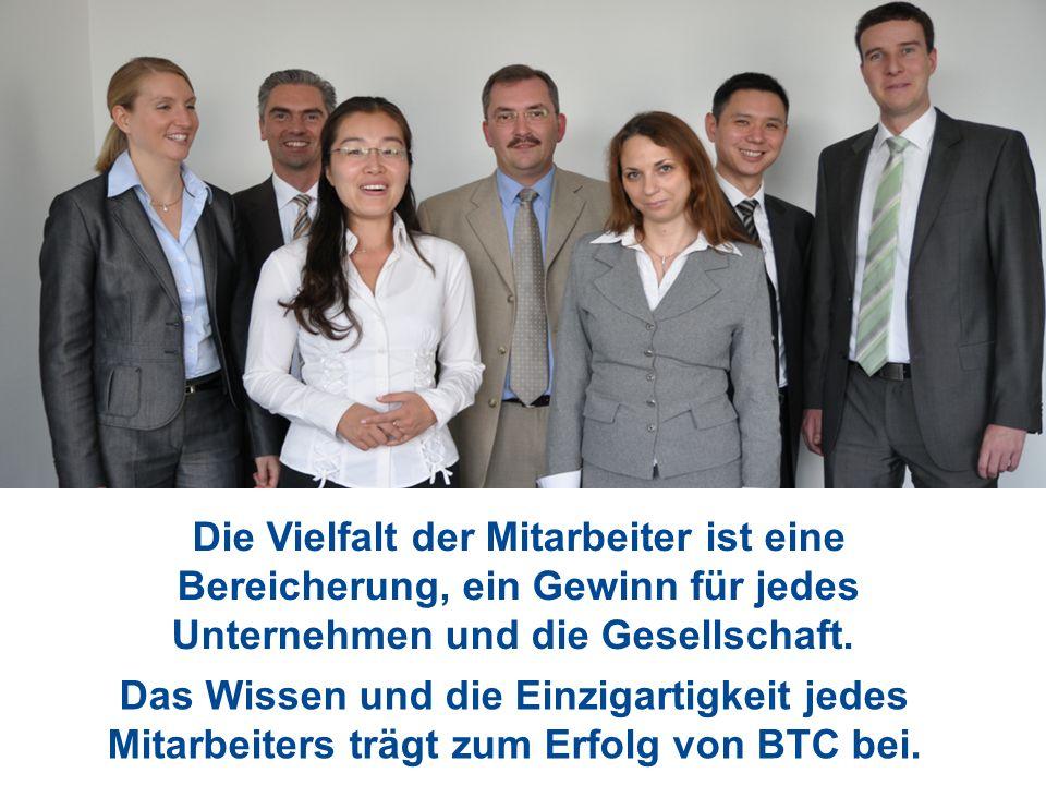 Die Vielfalt der Mitarbeiter ist eine Bereicherung, ein Gewinn für jedes Unternehmen und die Gesellschaft.