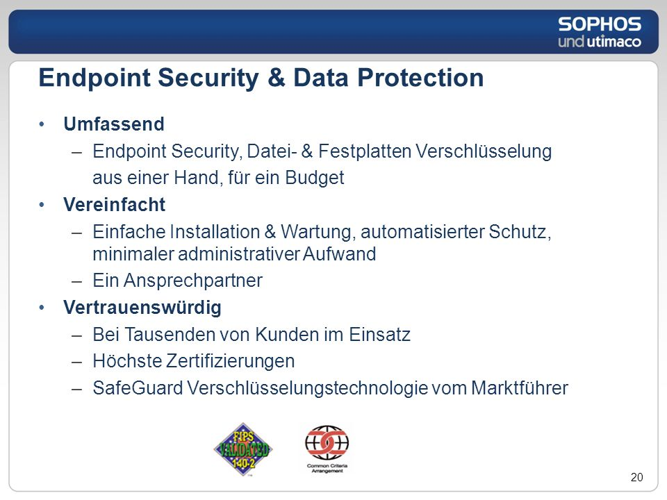 Endpoint Security & Data Protection