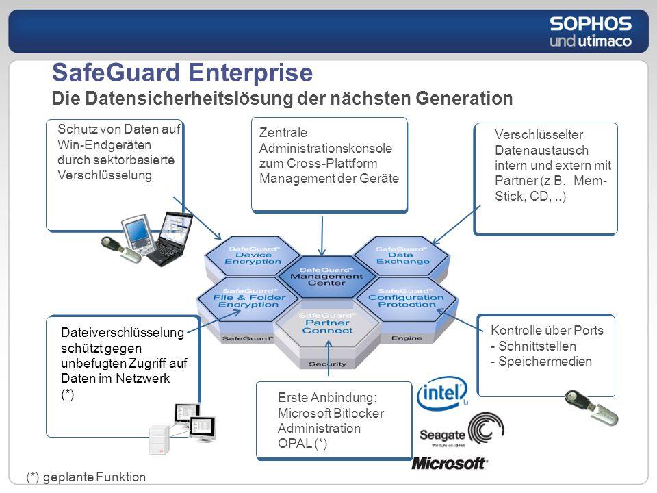 SafeGuard Enterprise Die Datensicherheitslösung der nächsten Generation