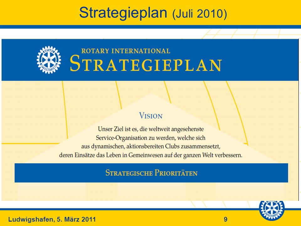 Strategieplan (Juli 2010)