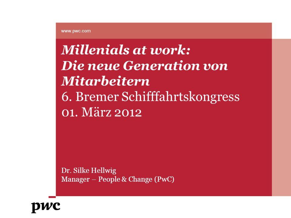 Die neue Generation von Mitarbeitern 6. Bremer Schifffahrtskongress