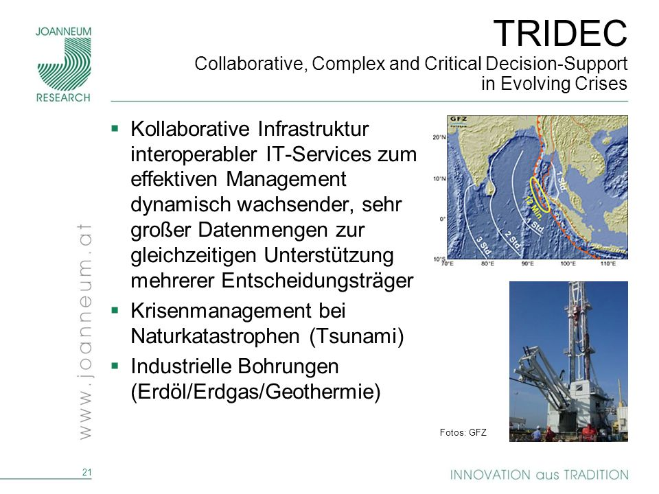 TRIDEC Collaborative, Complex and Critical Decision-Support in Evolving Crises