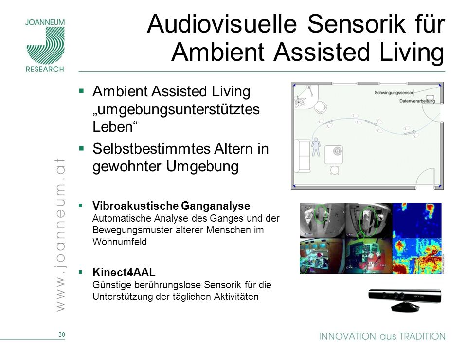 Audiovisuelle Sensorik für Ambient Assisted Living
