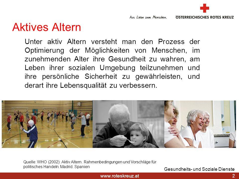 28.03.2017Aktives Altern.