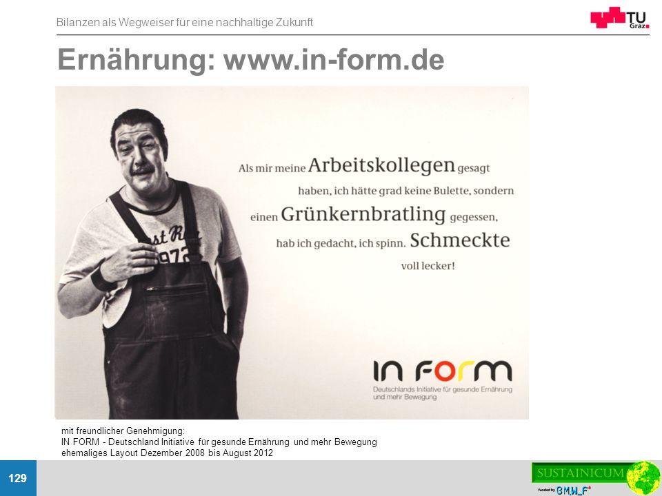 Ernährung: www.in-form.de