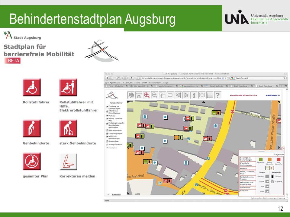 Behindertenstadtplan Augsburg