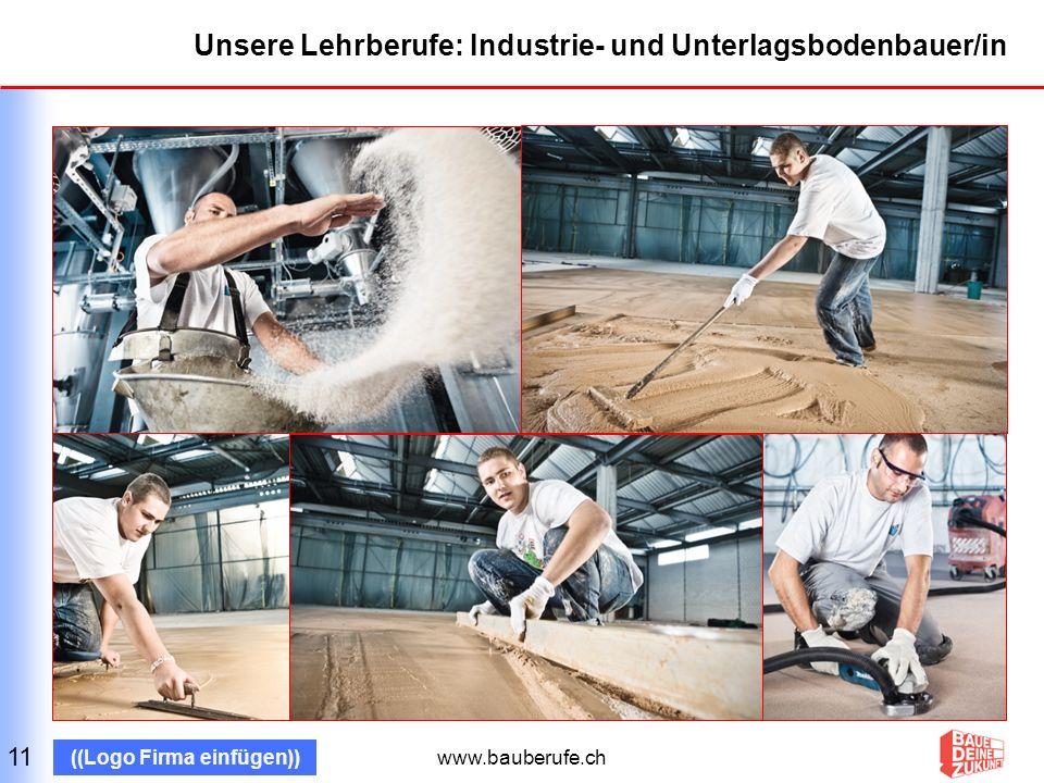 Unsere Lehrberufe: Industrie- und Unterlagsbodenbauer/in