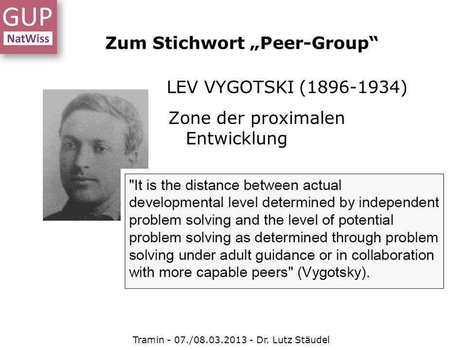 """Zum Stichwort """"Peer-Group"""