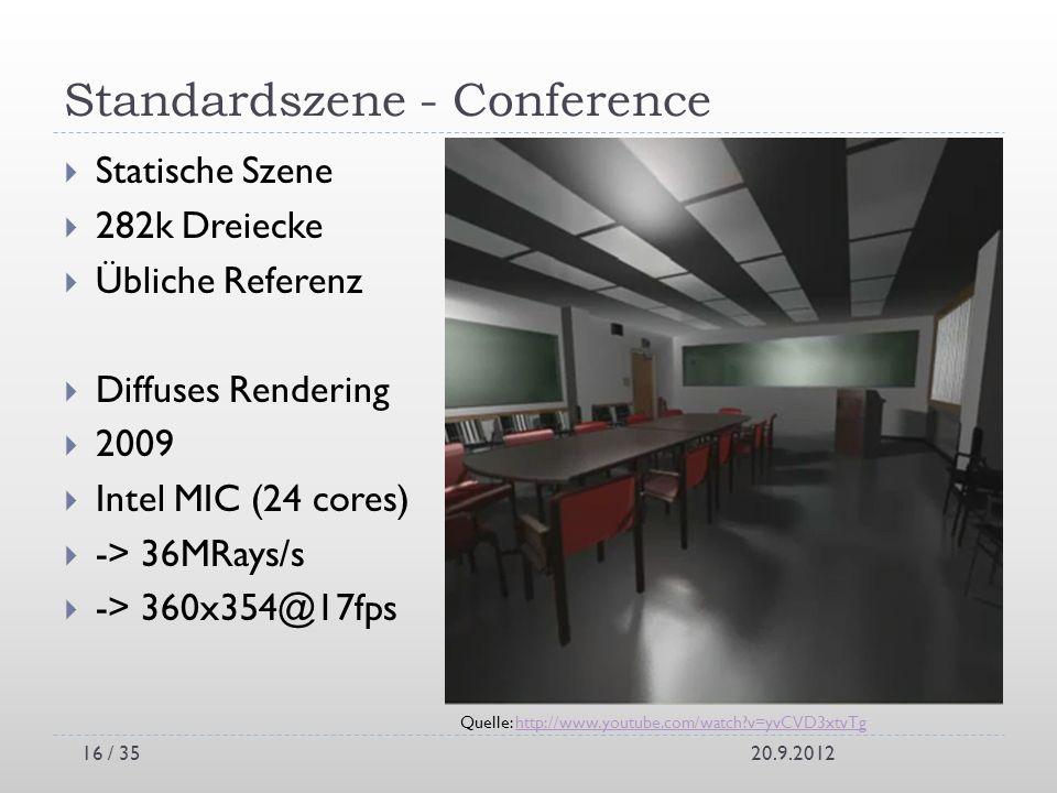 Standardszene - Conference