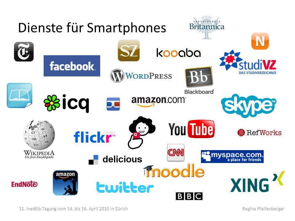 Dienste für Smartphones