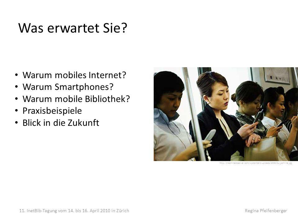 Was erwartet Sie Warum mobiles Internet Warum Smartphones