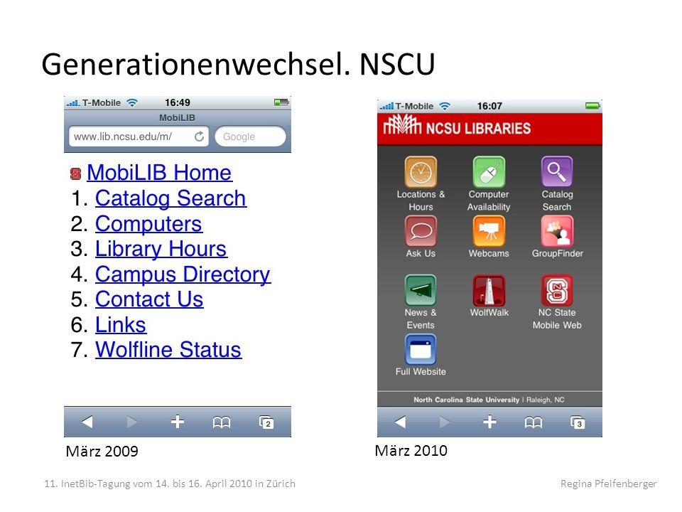 Generationenwechsel. NSCU