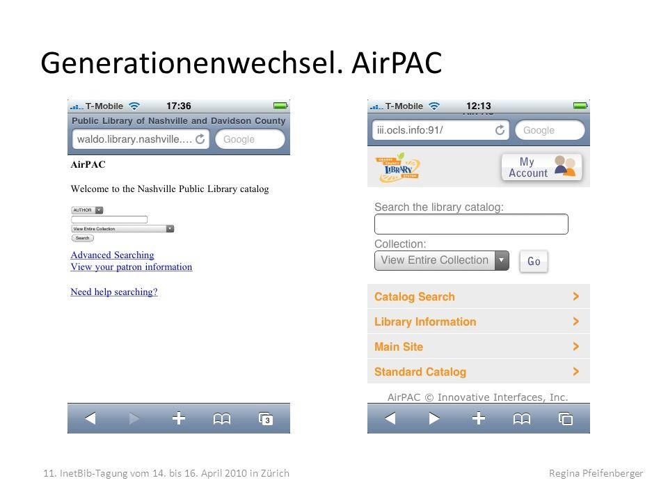 Generationenwechsel. AirPAC
