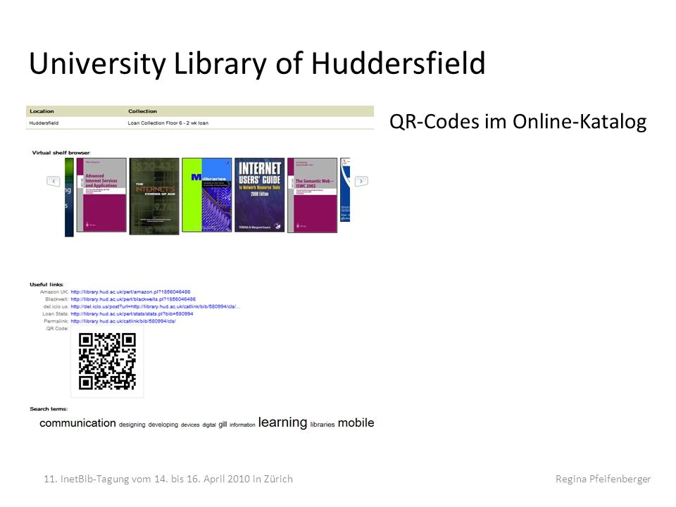 University Library of Huddersfield