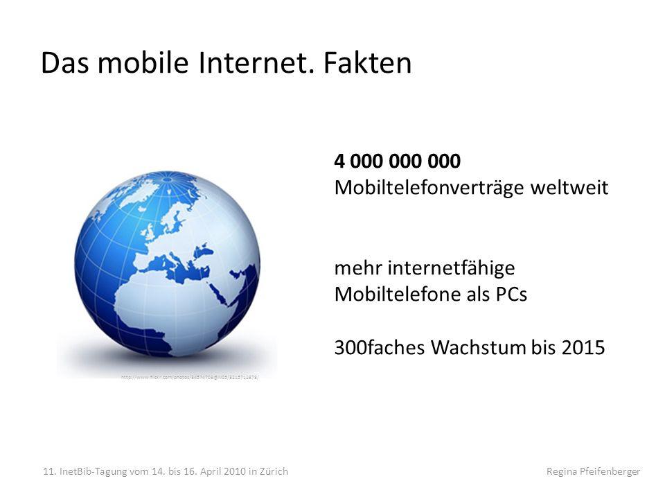 Das mobile Internet. Fakten