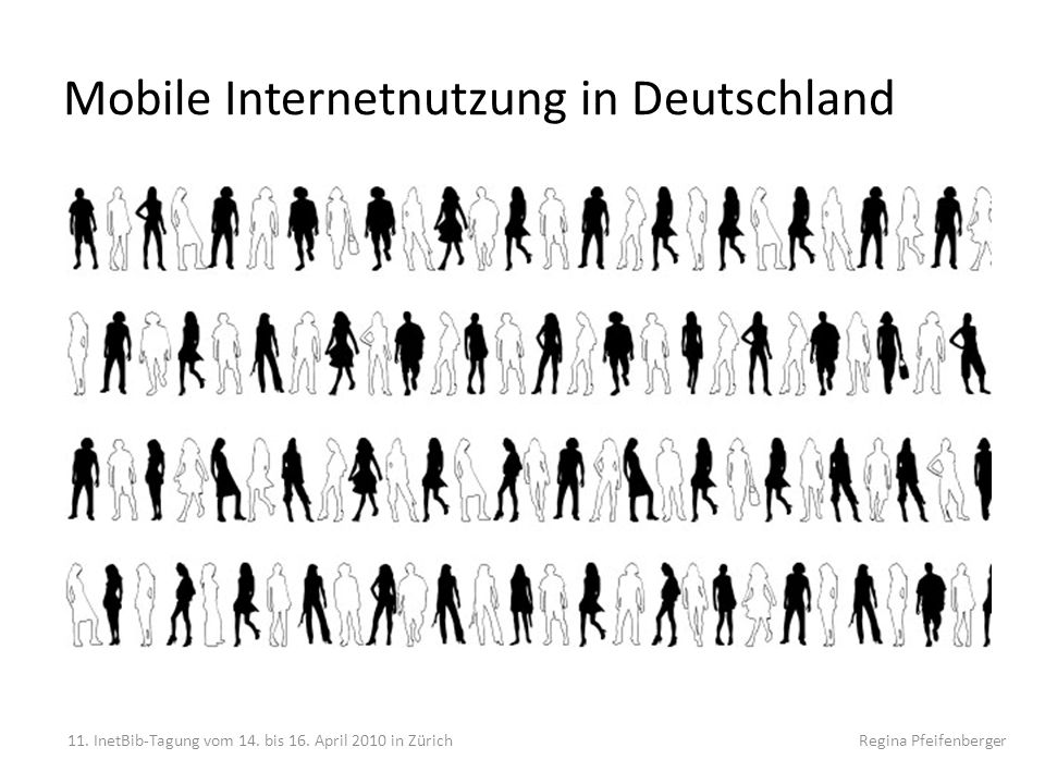 Mobile Internetnutzung in Deutschland