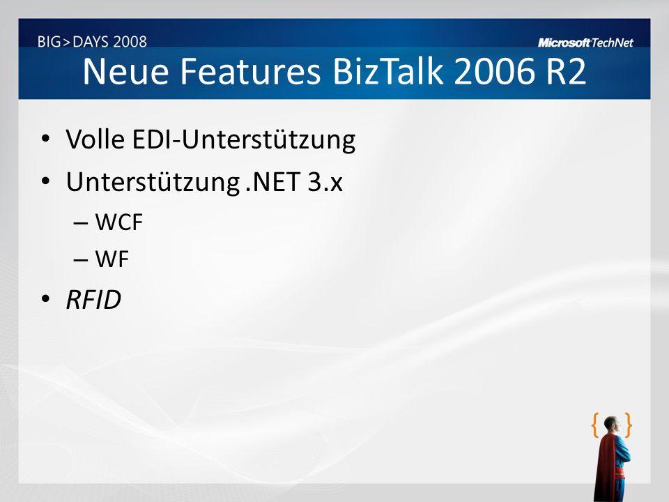 Neue Features BizTalk 2006 R2