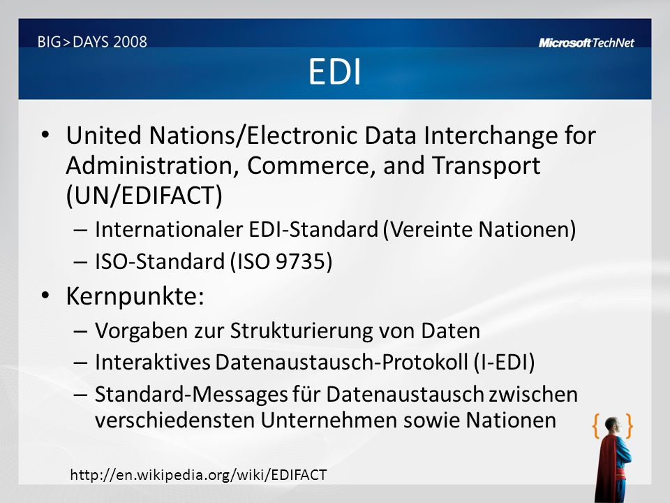 EDI United Nations/Electronic Data Interchange for Administration, Commerce, and Transport (UN/EDIFACT)