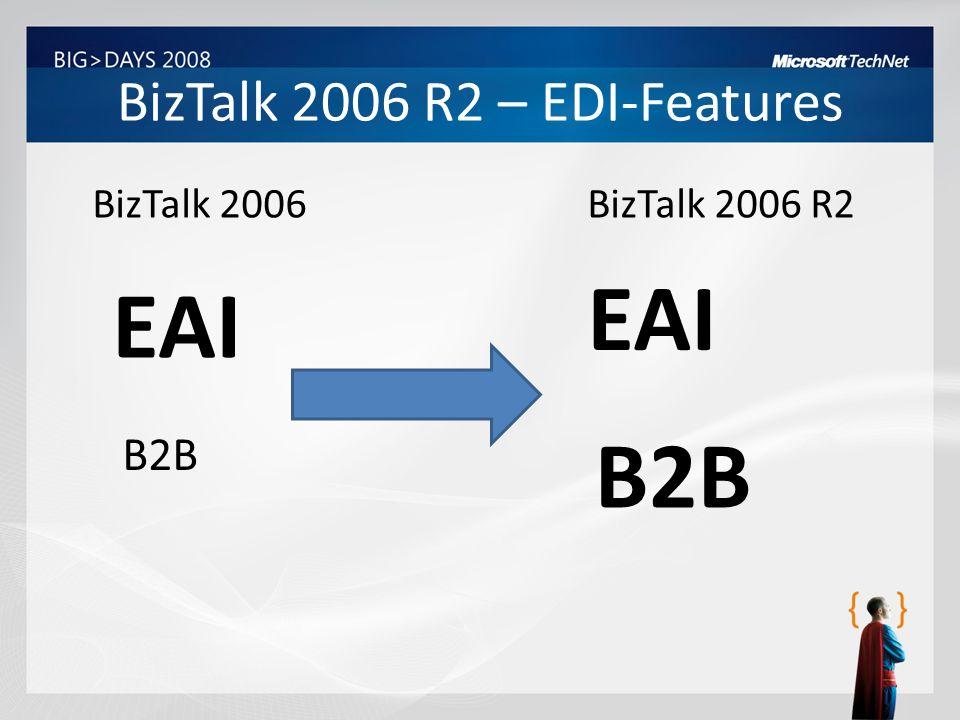 BizTalk 2006 R2 – EDI-Features
