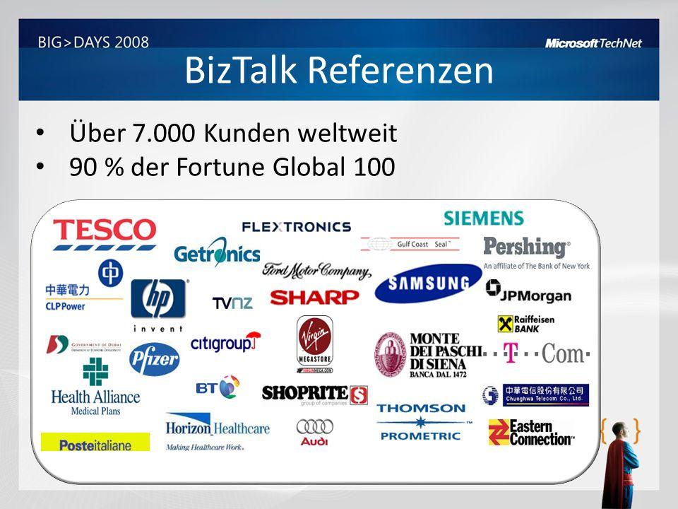 BizTalk Referenzen Über 7.000 Kunden weltweit