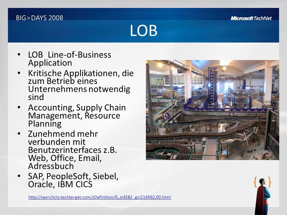 LOB LOB Line-of-Business Application