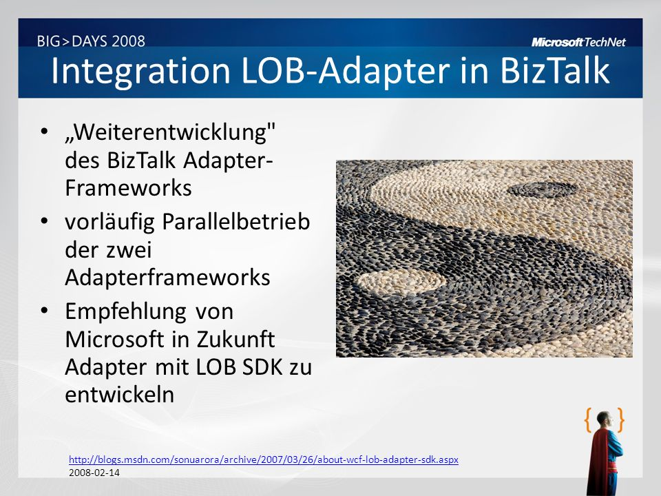 Integration LOB-Adapter in BizTalk