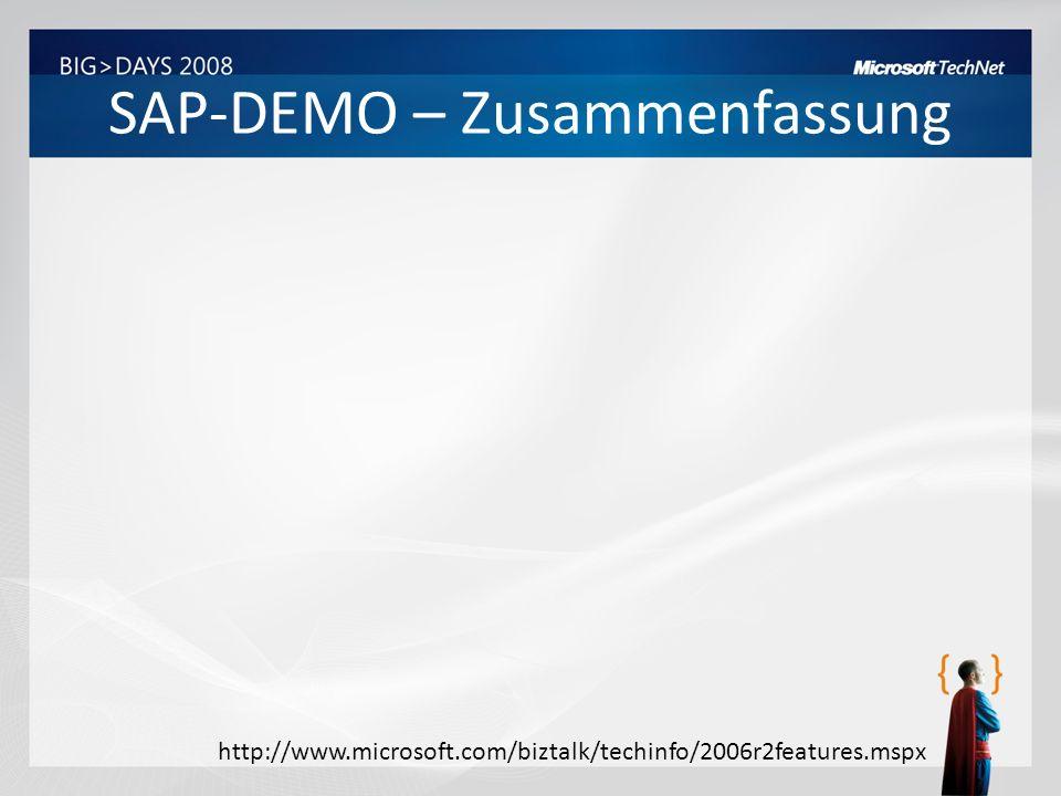 SAP-DEMO – Zusammenfassung