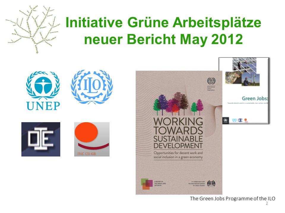 Initiative Grüne Arbeitsplätze neuer Bericht May 2012