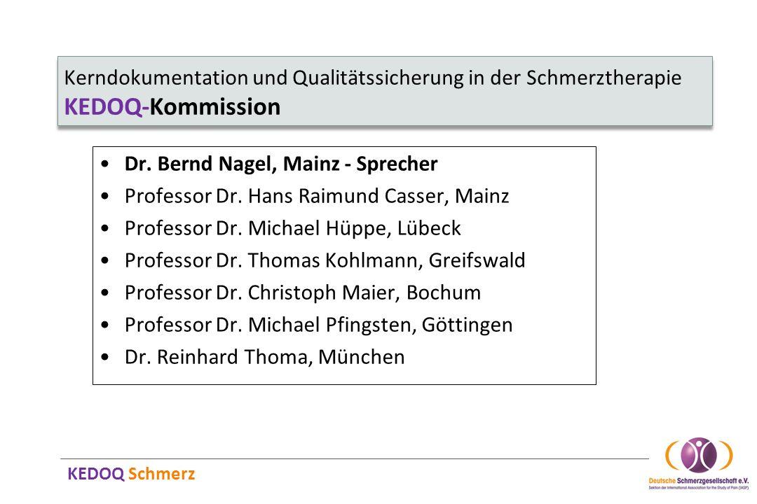 Dr. Bernd Nagel, Mainz - Sprecher