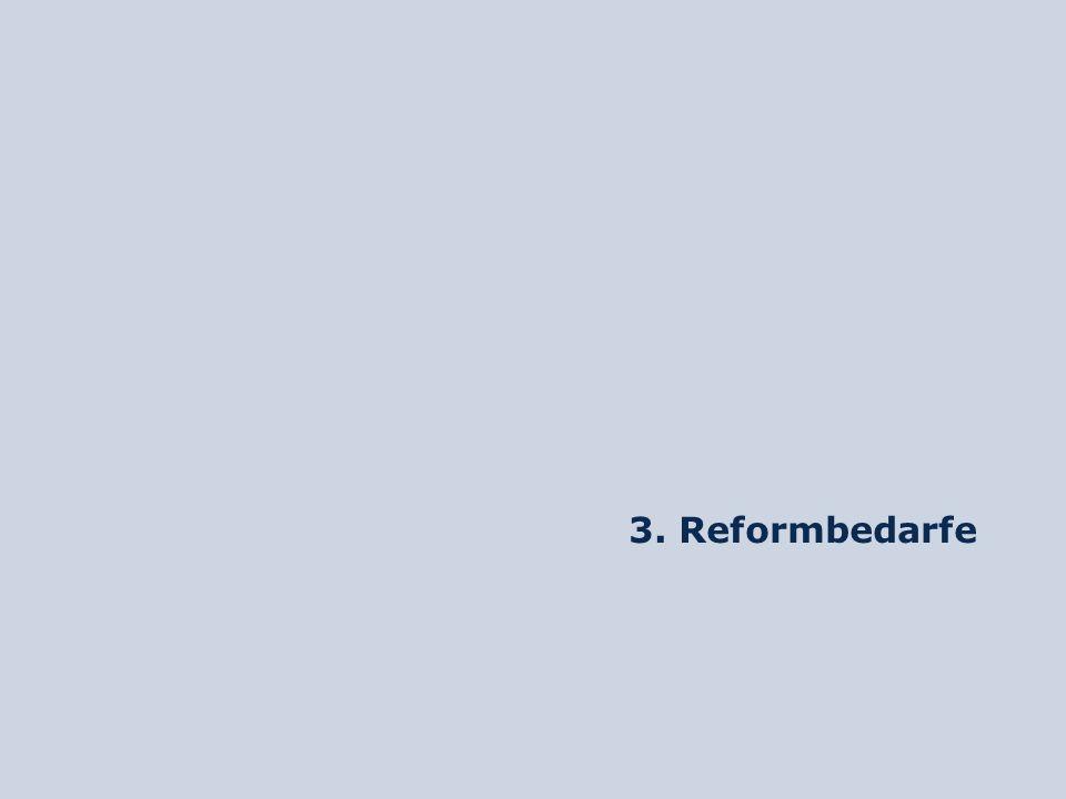 3. Reformbedarfe