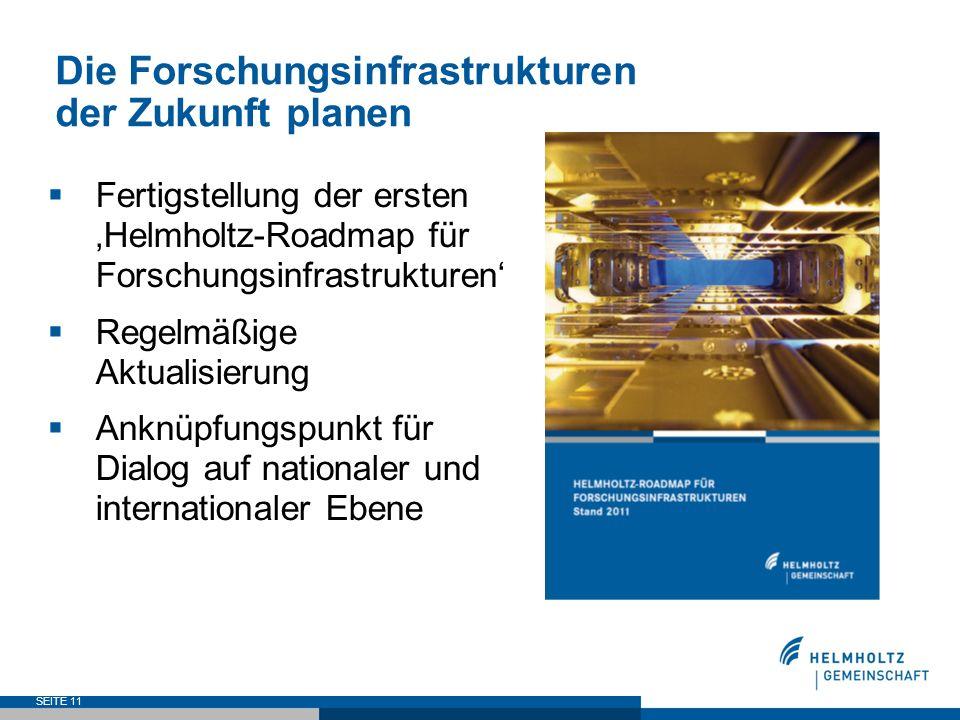 Die Forschungsinfrastrukturen der Zukunft planen