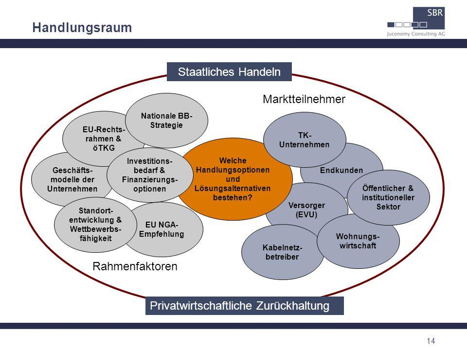 Handlungsraum Staatliches Handeln Marktteilnehmer Rahmenfaktoren