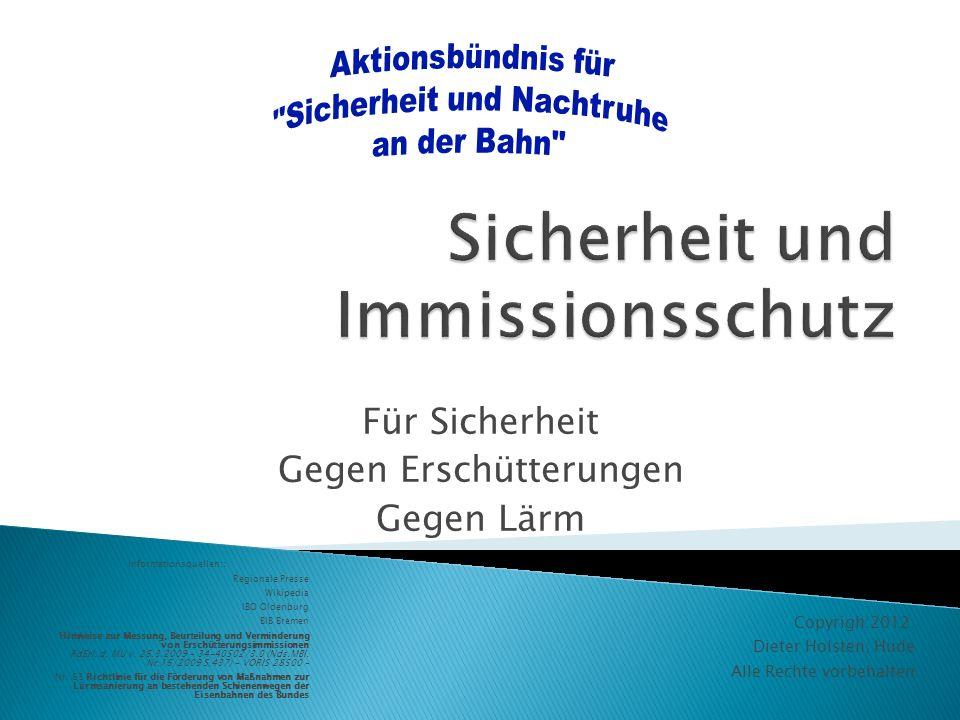 Sicherheit und Immissionsschutz