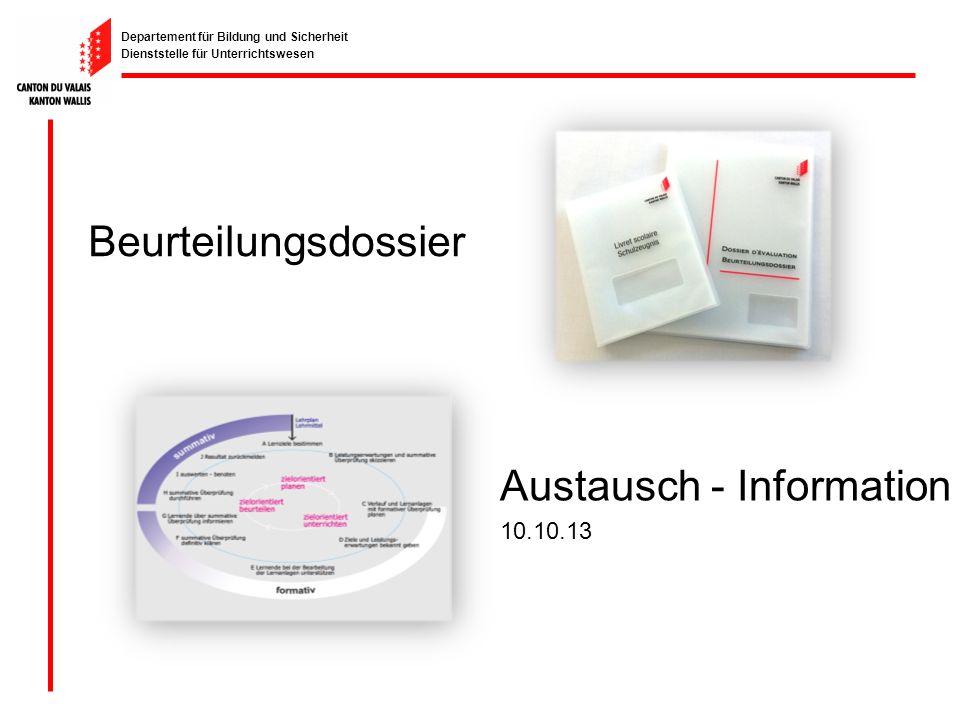 Austausch - Information