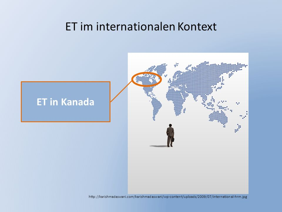 ET im internationalen Kontext