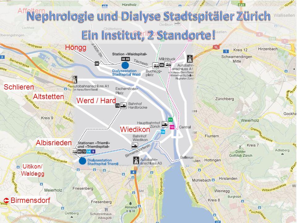 Nephrologie und Dialyse Stadtspitäler Zürich