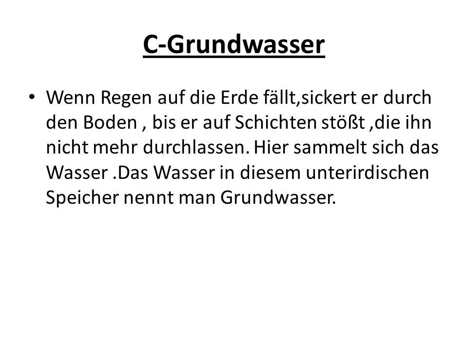 C-Grundwasser