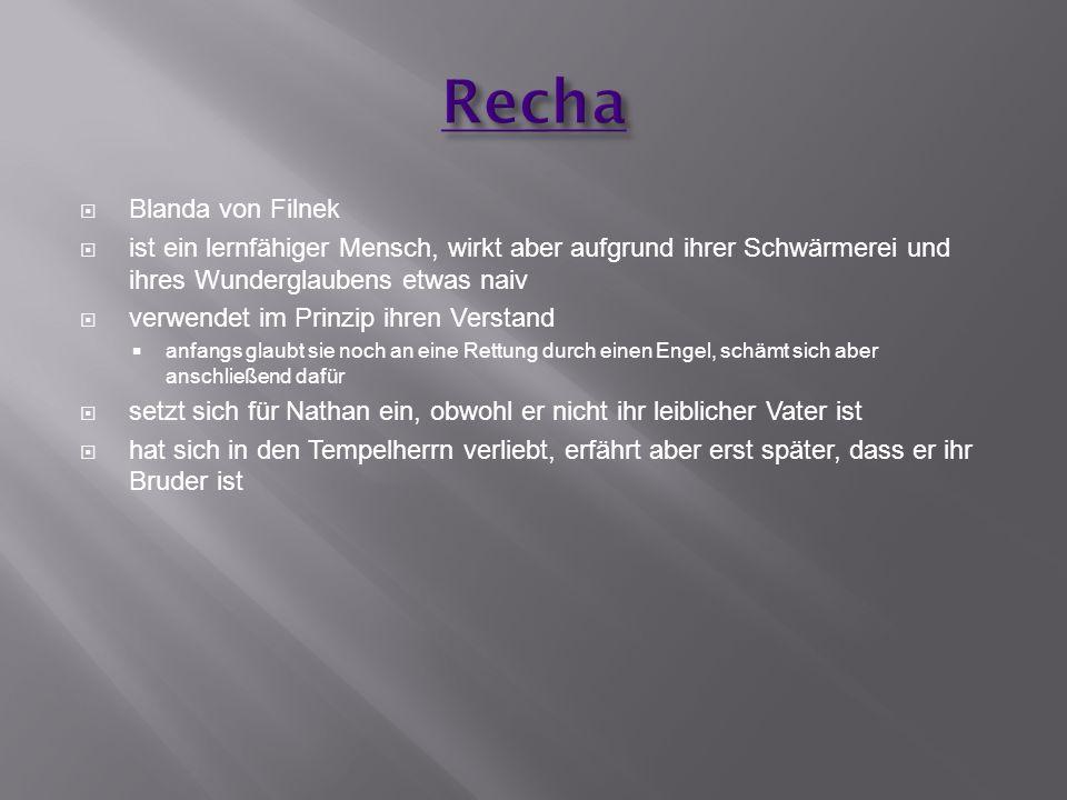 Recha Blanda von Filnek
