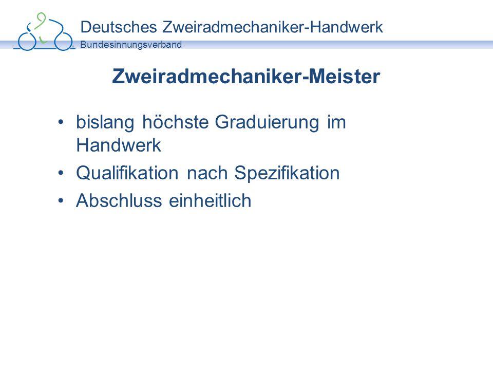 Zweiradmechaniker-Meister