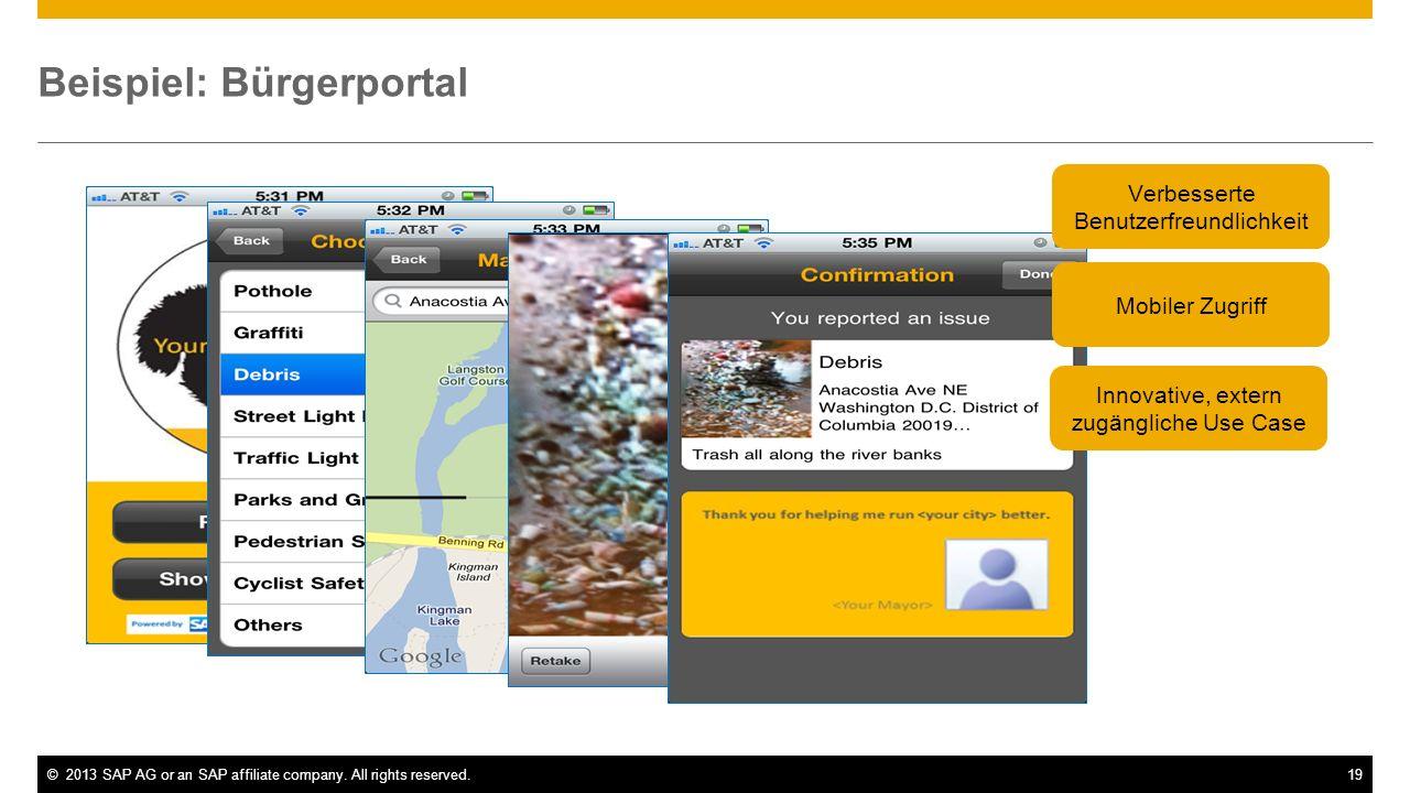 Beispiel: Bürgerportal