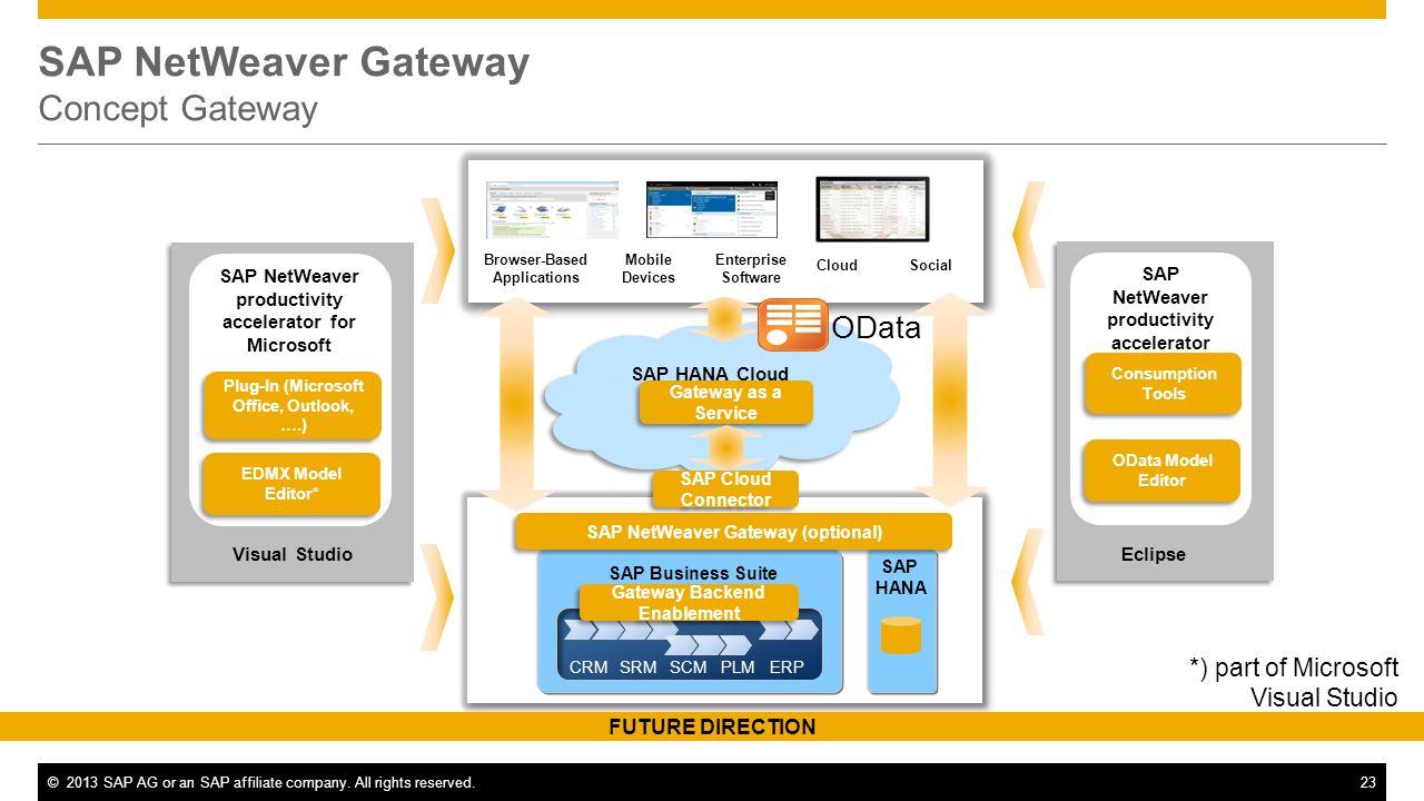 SAP NetWeaver Gateway Concept Gateway
