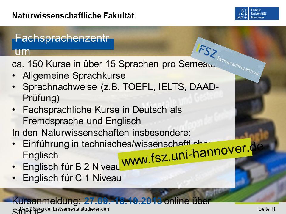 www.fsz.uni-hannover.de Fachsprachenzentrum