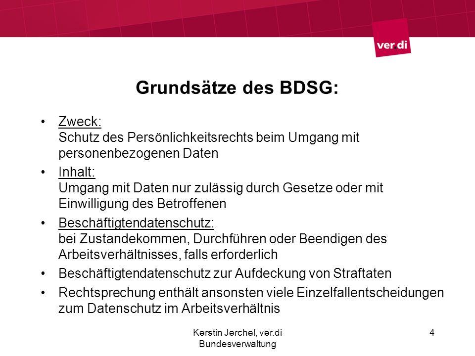 Kerstin Jerchel, ver.di Bundesverwaltung
