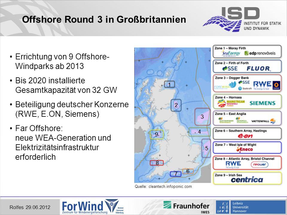 Offshore Round 3 in Großbritannien