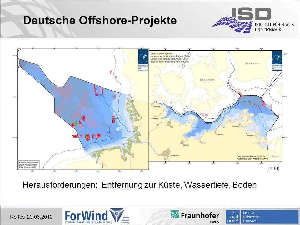 Deutsche Offshore-Projekte