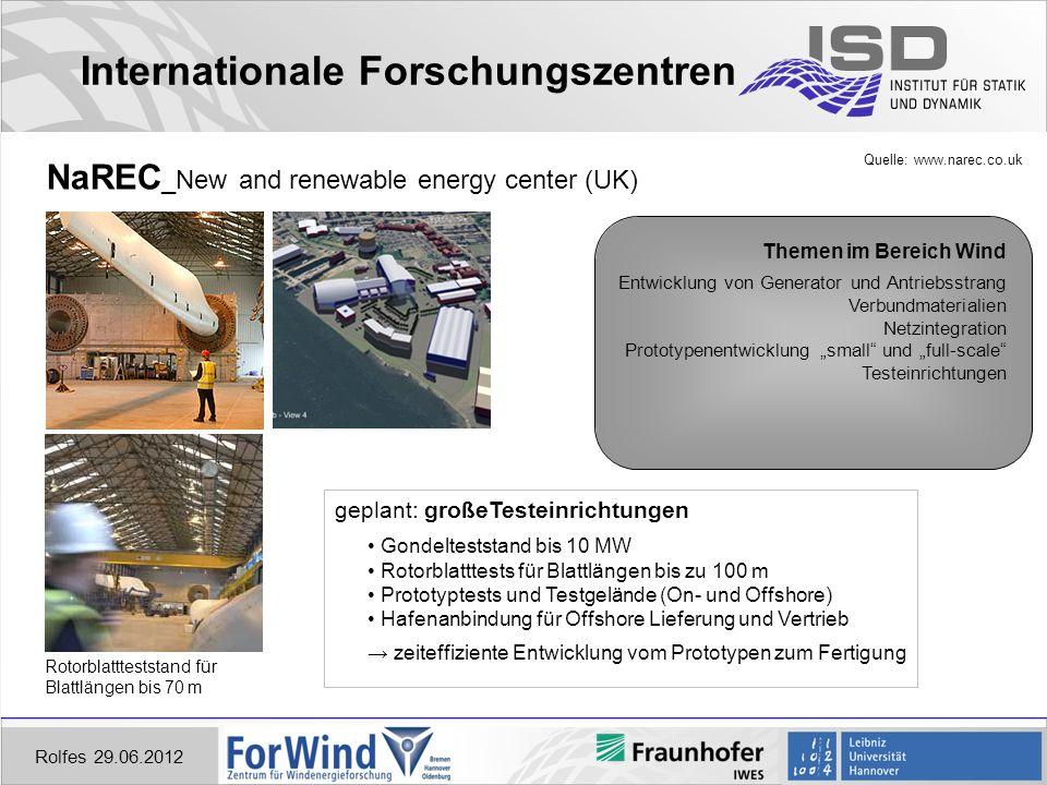 Internationale Forschungszentren