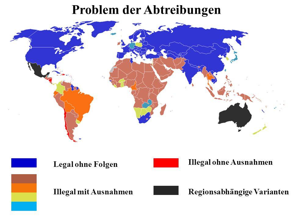 Problem der Abtreibungen