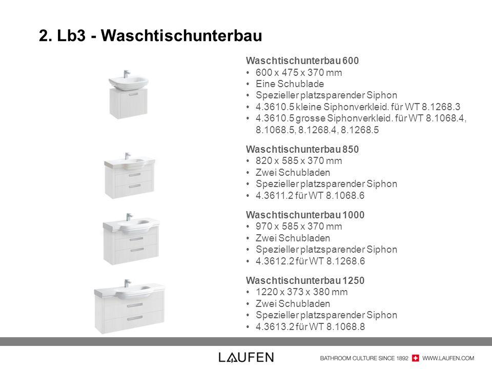 2. Lb3 - Waschtischunterbau
